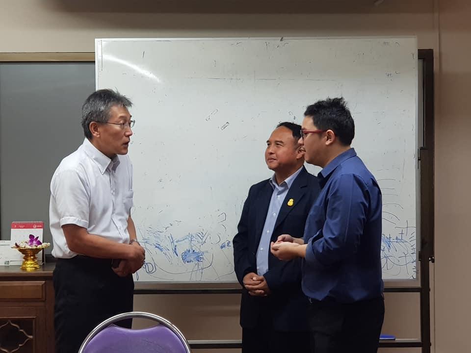 อธิการบดีต้อนรับอาจารย์และนักศึกษาแลกเปลี่ยนจาก Ichinoseki National College Technology